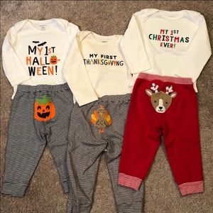 Carter's 9-12M My First Holiday Outfits Bundle